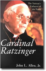 (Cardinal Ratzinger by John Allen cover.)
