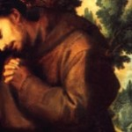 auspicato-St. Francis in prayer