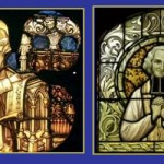 Hildegard and Vianney collage