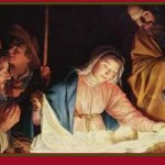 Nativity by Gerard_van_Honthorst collage
