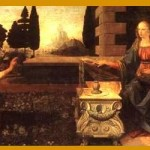 annunciation-Da Vinci collage2
