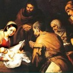 nativity- murillo collage