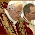 Pope Benedict's announcement collage
