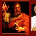 Saint Paul and the Popes -evangelization collage