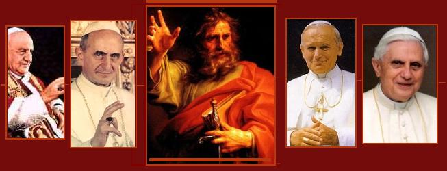 Image result for collage of popes