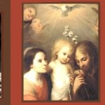 To jesus through mary and joseph collage
