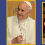 The three popes collage