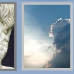 Aristotle and Aquinas and contemplation collage