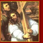 Carrying the Cross with Simon of Cyrene