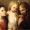 The Holy Family, by Juan Simon Gutierrez (1643-1718).