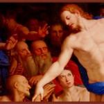 Detail of the fresco Descent of Christ into Limbo, by Agnolo Bronzino (1552).