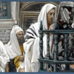 Detail from Jesus Rejected in the Synagogue, by James Tissot (1894).