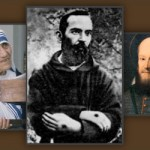 John of the Cross, Mother Teresa of Calcutta, Pio of Pietrelcina, Francis de Sales, Teresa of Avila.