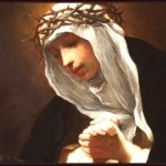 St. Catherine of Siena, by Baldassare Franceschini (17th century).
