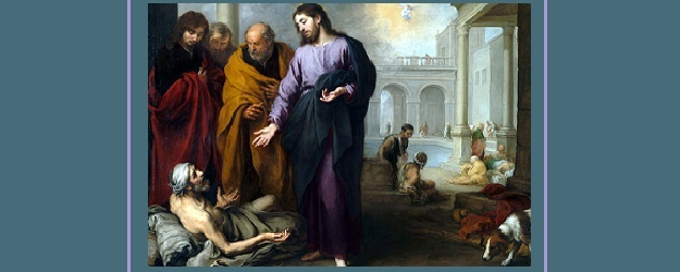 Christ Healing the Paralytic at the Pool of Bethesda, by Bartolome Esteban Murillo.