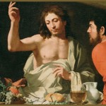 Supper at Emmaus, Bartolomeo Cavarozzi (1615-1625).