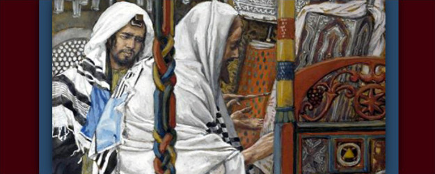 /Jesus Teaches in the Synagogue/, by James Tissot (1896-1902).