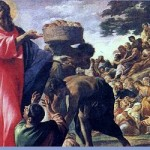 Homilies for July 2015-Miracle of Loaves and Fishes art