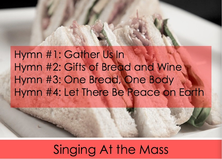 Propers of the Mass Versus the Four-Hymn Sandwich