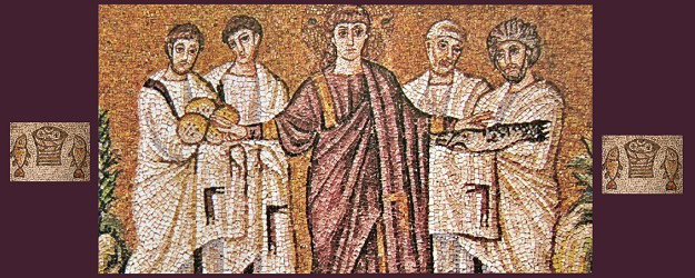 Mosaic_of_Christ_and_the_miracle_of_loaves_and_fishes_for_On_whose_Authority_by_Knight