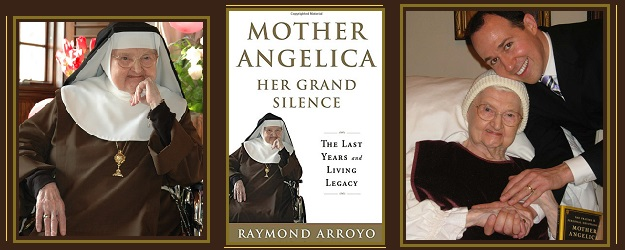 Teaching Silently Mother Angelica artwork