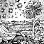 Man looking at cosmos